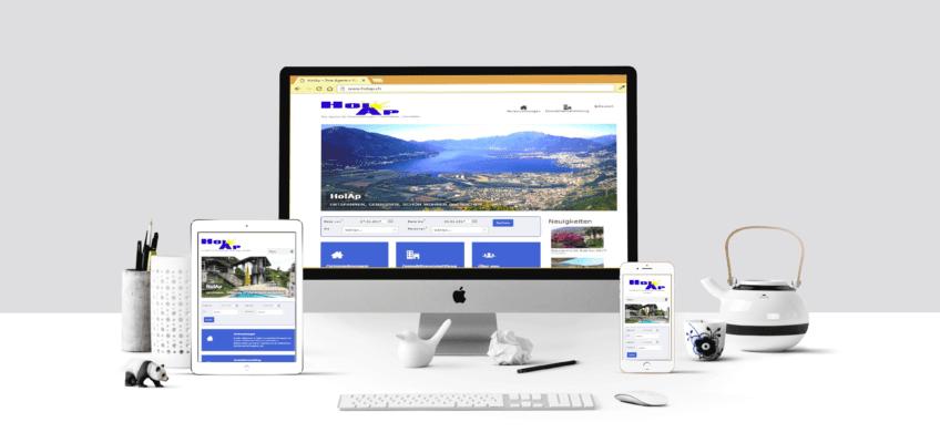 HolAp - Ferienwohnungen, Ferienhäuser im Tessin, Ascona, Locarno, Minusio, Orselina, Brione S.Minusio, Valle Maggia, Valle Verzasca, Gambarogno - Workspace-HolAp