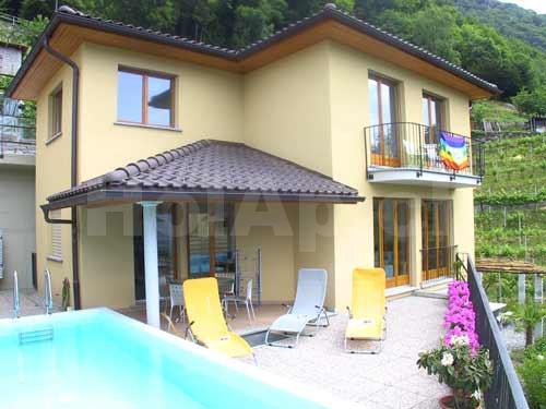 HolAp - Ferienwohnungen, Ferienhäuser im Tessin, Ascona, Locarno, Minusio, Orselina, Brione S.Minusio, Valle Maggia, Valle Verzasca, Gambarogno -  - H6516-40_esterno