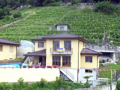 HolAp - Ferienwohnungen, Ferienhäuser im Tessin, Ascona, Locarno, Minusio, Orselina, Brione S.Minusio, Valle Maggia, Valle Verzasca, Gambarogno -  - H6516-40_esterno1