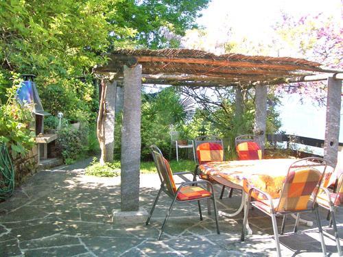 HolAp - Ferienwohnungen, Ferienhäuser im Tessin, Ascona, Locarno, Minusio, Orselina, Brione S.Minusio, Valle Maggia, Valle Verzasca, Gambarogno -  - H6575-60_terrazza
