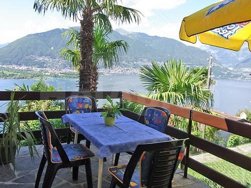 HolAp - Ferienwohnungen, Ferienhäuser im Tessin, Ascona, Locarno, Minusio, Orselina, Brione S.Minusio, Valle Maggia, Valle Verzasca, Gambarogno -  - H6575-60_terrazza2