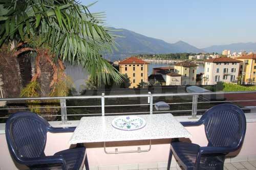 HolAp - Ferienwohnungen, Ferienhäuser im Tessin, Ascona, Locarno, Minusio, Orselina, Brione S.Minusio, Valle Maggia, Valle Verzasca, Gambarogno -  - H6600-402_vista
