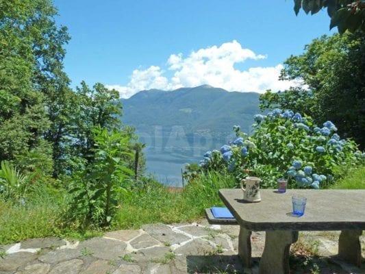 HolAp - Ferienwohnungen, Ferienhäuser im Tessin, Ascona, Locarno, Minusio, Orselina, Brione S.Minusio, Valle Maggia, Valle Verzasca, Gambarogno -  - H6614-420_lago