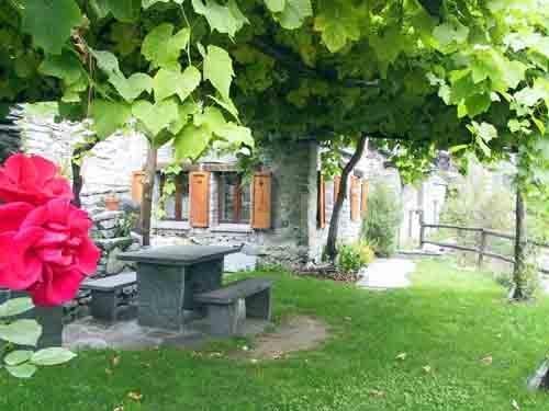 HolAp - Ferienwohnungen, Ferienhäuser im Tessin, Ascona, Locarno, Minusio, Orselina, Brione S.Minusio, Valle Maggia, Valle Verzasca, Gambarogno -  - H6692-195_giardino