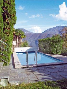 HolAp - Ferienwohnungen, Ferienhäuser im Tessin, Ascona, Locarno, Minusio, Orselina, Brione S.Minusio, Valle Maggia, Valle Verzasca, Gambarogno -  - H6921-299_pool
